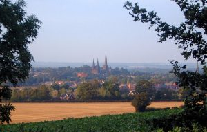 View of Lichfield from Aldershawe